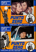 "Movie Posters:Action, Vanishing Point (20th Century Fox, 1971). Italian Photobusta Set of8 (18"" X 25.75""). Action.. ... (Total: 8 Items)"