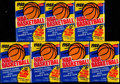 Basketball Cards:Unopened Packs/Display Boxes, 1988 Fleer Basketball Unopened Wax Pack Collection (7)....