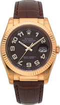 Timepieces:Wristwatch, Rolex Ref. 116138 Unused Gold Oyster Perpetual Datejust. ...