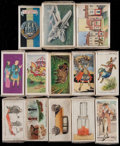 Non-Sport Cards:Sets, 1922-1967 Non-Sport Set Collection (13)....