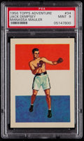Boxing Cards:General, 1956 Topps Adventure Jack Dempsey #34 PSA Mint 9....