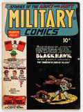 Golden Age (1938-1955):War, Military Comics #8 (Quality, 1942) Condition: Apparent VG+....