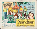 """Movie Posters:Comedy, It Grows on Trees & Others Lot (Universal International, 1952). Half Sheet (22"""" X 28""""), One Sheets (2) (27"""" X 41""""), Uncut P... (Total: 54 Items)"""