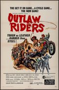 """Movie Posters:Exploitation, Outlaw Riders & Others Lot (Ace International, 1971). OneSheets (3) (27"""" X 41""""), Lobby Cards (2) (11"""" X 14"""") & Photos(3) (... (Total: 8 Items)"""