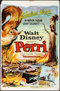 "Movie Posters:Adventure, Perri & Others Lot (Buena Vista, 1957). One Sheets (2) (27"" X41"") & Inserts (3) (14"" X 36""). Adventure.. ... (Total: 5Items)"