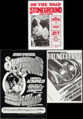 "Movie Posters:Rock and Roll, Stoneground Lot (1972). Concert Posters (3) (10"" X 14"", 10"" X 15"",& 13"" X 19.5""). Rock and Roll.. ... (Total: 3 Items)"