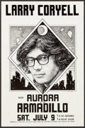 "Movie Posters:Rock and Roll, Larry Coryell at the Armadillo & Others Lot (Armadillo, 1977).Concert Window Cards (3) (11.5"" X 17.5"", & 11"" X 17""). Rocka... (Total: 3 Items)"