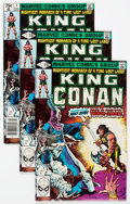 Modern Age (1980-Present):Science Fiction, King Conan #1 and 4-6 Group of 54 (Marvel, 1980).... (Total: 54Comic Books)