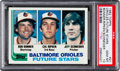 Baseball Cards:Singles (1970-Now), 1982 Topps Cal Ripken Jr. - Orioles Future Stars #21 PSA Gem Mint10. ...