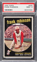 Baseball Cards:Singles (1950-1959), 1959 Topps Frank Robinson #435 PSA Mint 9 - Only One Higher. ...