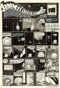 "Original Comic Art:Panel Pages, Chris Ware Acme Novelty Library #1 ""Jimmy Corrigan"" PageOriginal Art (Fantagraphics, 1993)...."