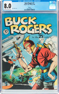 Golden Age (1938-1955):Science Fiction, Buck Rogers #1 Chicago Pedigree (Eastern Color, 1940) CGC VF 8.0 Cream to off-white pages....