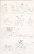 Original Comic Art:Panel Pages, Frank Quitely and Jamie Grant All Star Superman #6 StoryPage 12 Original Art (DC, 2007)....