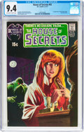 Bronze Age (1970-1979):Horror, House of Secrets #92 (DC, 1971) CGC NM 9.4 Off-white to white pages....