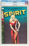 Golden Age (1938-1955):Superhero, The Spirit #21 Canadian Edition (Bell Features, 1950) CGC VF- 7.5 Off-white to white pages....