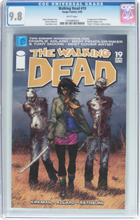 The Walking Dead #19 (Image, 2005) CGC NM/MT 9.8 White pages