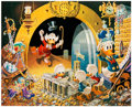 Memorabilia:Disney, Cark Barks Hands Off My Playthings Signed Limited Edition Lithograph Print #46/345 (Another Rainbow, 1997). ...