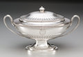 Silver Holloware, British:Holloware, A Thomas Heming George III Silver Covered Tureen, London, England,circa 1780. Marks: (lion passant), (crowned leopard), e...