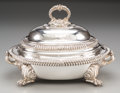 Silver & Vertu:Hollowware, A Benjamin Smith Early Victorian Silver and Silver-Plated Serving Dish, Bearing Arms of Francis Egerton, First Earl of Ell... (Total: 2 Items)