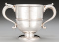 Silver Holloware, British:Holloware, A William and James Priest George III Silver Two-Handled Cup,London, England, circa 1771. Marks: (lion passant), (crowned l...