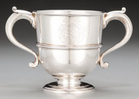 A William and James Priest George III Silver Two-Handled Cup, London, England, circa 1771 Marks: (lion passant), (