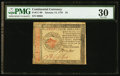 Colonial Notes:Continental Congress Issues, Continental Currency January 14, 1779 $4 PMG Very Fine 30.. ...
