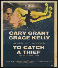 "To Catch a Thief (Paramount, 1955). Window Card (14"" X 16.5""). Hitchcock"