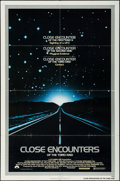"Movie Posters:Science Fiction, Close Encounters of the Third Kind (Columbia, 1977). One Sheet (27"" X 41"") & Program (20 Pages, 9"" X 12""). Science Fiction.... (Total: 2 Items)"
