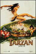 """Movie Posters:Animation, Tarzan & Others Lot (Buena Vista, 1999). One Sheets (4) (27"""" X 40"""") DS Advance & Regular. Animation.. ... (Total: 4 Items)"""