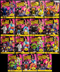 """Movie Posters:Animation, James Bond Jr. (Hasbro, 1991/1992). Action Figures in OriginalPackaging (15) (7.5"""" X 9.25""""), Secret Agent Accessories in Or...(Total: 28 Items)"""