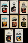 "Movie Posters:James Bond, James Bond Hardcover Novels (Cedric Chivers, 1979-1983). BritishHardcover Books (15) (Multiple Pages, 5.5"" X 8.75"") Large P...(Total: 15 Items)"