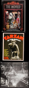 "Movie Posters:Adventure, Tarzan of the Movies by Gabe Essoe & Others Lot (Citadel Press,1968). Hardcover Books (3) (Multiple Pages, 8.5""-11"" X 10""-1...(Total: 3 Items)"