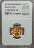 Ancients:Roman Imperial, Ancients: Leo I the Great, Eastern Roman Emperor (AD 457-474). AV solidus (4.48 gm)....
