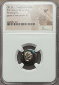 Ancients:Celtic, Ancients: DANUBE REGION. Imitating Alexander III the Great. Ca.3rd-2nd centuries BC. AR drachm....