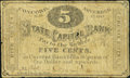 Obsoletes By State:New Hampshire, Concord, NH- Phenix Hotel State Capital Bank 5¢ Nov. 1, 1862. ...