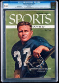 Football Collectibles:Publications, 1955 Doak Walker Sports Illustrated CGC 9.4....