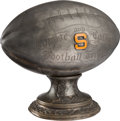 """Football Collectibles:Others, 1920 """"Corpse and Coffin"""" Syracuse Orangemen Most Valuable Player Trophy Presented to Joseph """"Doc"""" Alexander...."""