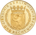Miscellaneous Collectibles:General, 1936 Berlin Summer Olympics Rare Gold Commemoration Medal....