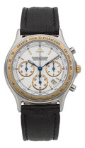 "Timepieces:Wristwatch, Jaeger LeCoultre ""Heraion"" Chronograph Wristwatch Ref. 115.5.31...."