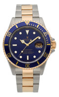 Timepieces:Wristwatch, Rolex Ref. 16613 Two Tone Oyster Perpetual Date Submariner, circa 2007. ...