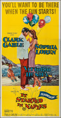 """Movie Posters:Comedy, It Started in Naples & Other Lot (Paramount, 1960). Three Sheet (41"""" X 79"""") & One Sheet (27"""" X 41""""). Comedy.. ... (Total: 2 Items)"""