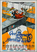 "Movie Posters:Adventure, Those Magnificent Men in Their Flying Machines (20th Century Fox,1965). Italian 4 - Fogli (55"" X 78""). Adventure.. ..."