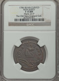 Colonials, 1786 NJERSY New Jersey Copper, Narrow Shield Fine 15 NGC. Ex: The Old New England Collection. NGC Census: (6/70). PCGS Popu...