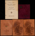 Miscellaneous Collectibles:General, Early 1900's University of Michigan Commencement Booklets Lot of5....
