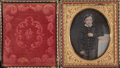 Photography, Unknown (19th century). Young Lad, 1850s. Daguerrotype. 2-3/4 x 2-1/8 inches (7.0 x 5.4 cm). ...
