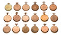 Timepieces:Other , Eighteen Better American 16 Size Watch Cases. ... (Total: 18 Items)