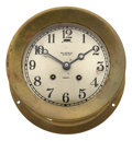 Timepieces:Clocks, Chelsea, Ball Watch Co., Ships Clock. ...