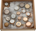 Timepieces:Pocket (post 1900), Forty American Pocket Watches. ... (Total: 40 Items)