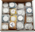 Timepieces:Other , Approximately Fifty Rare American Dials. ...