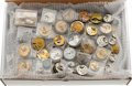 Timepieces:Other , Over One Hundred Partial & Complete Watch Movements. ...
